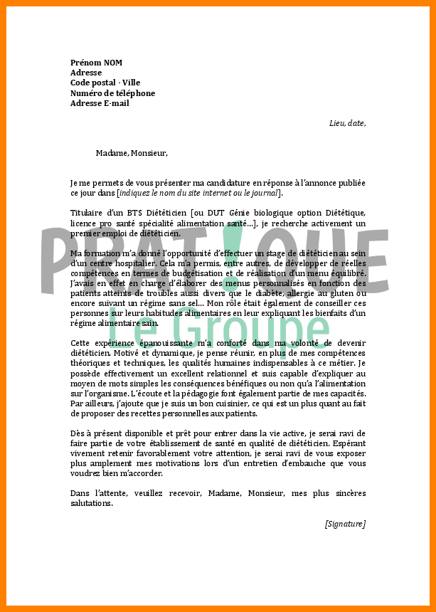 lettre de motivation assistante veterinaire