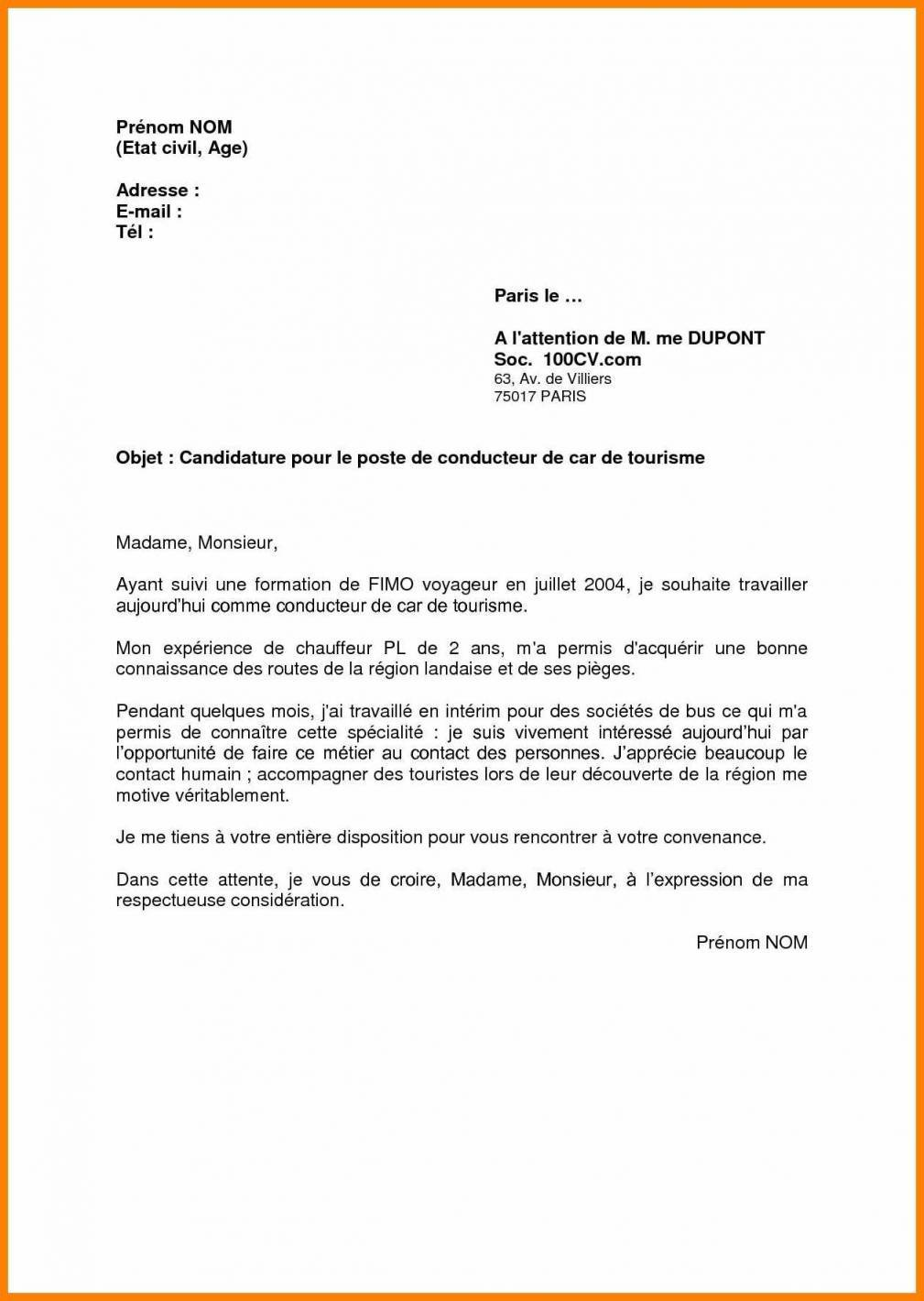 lettre de motivation conducteur de metro ratp