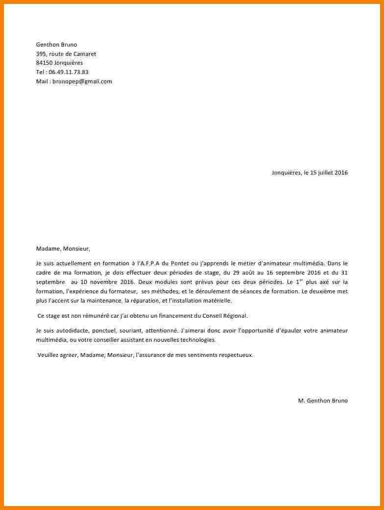 lettre de motivation coordinateur d u0026 39  u00e9quipe