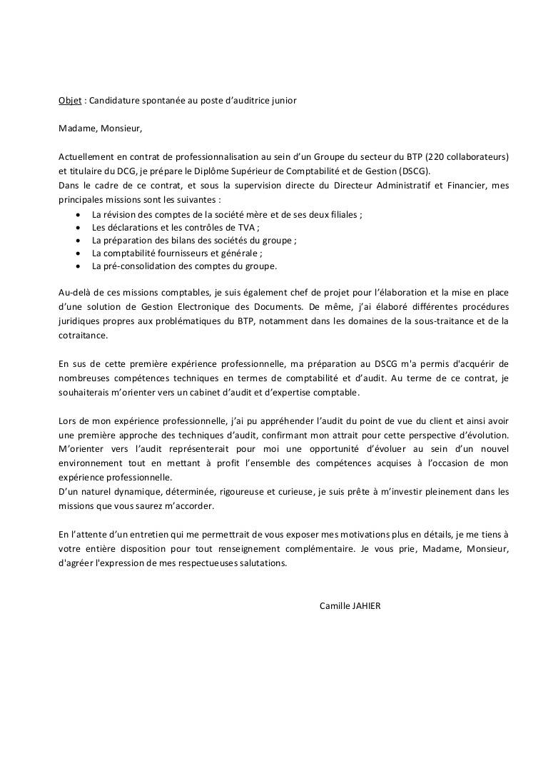 lettre de motivation chef de publicit u00e9