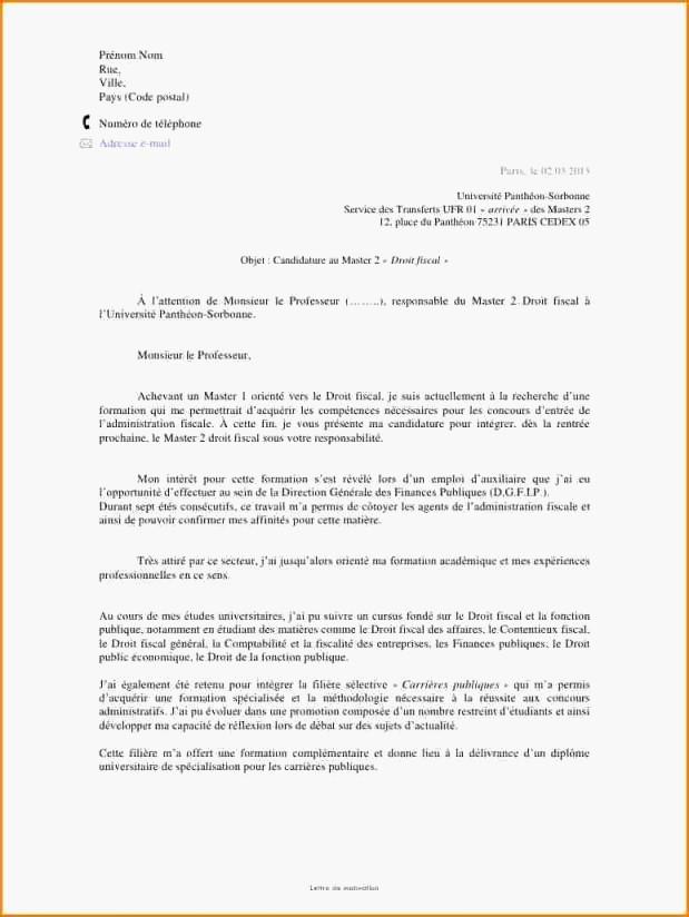 lettre de motivation cif cdd