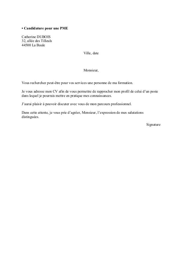 Exemple lettre de motivation simple et courte - laboite-cv.fr