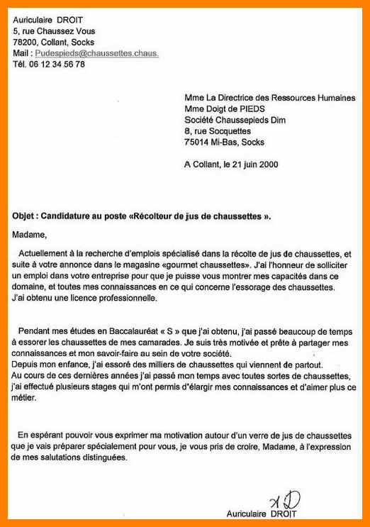 lettre de motivation cpe