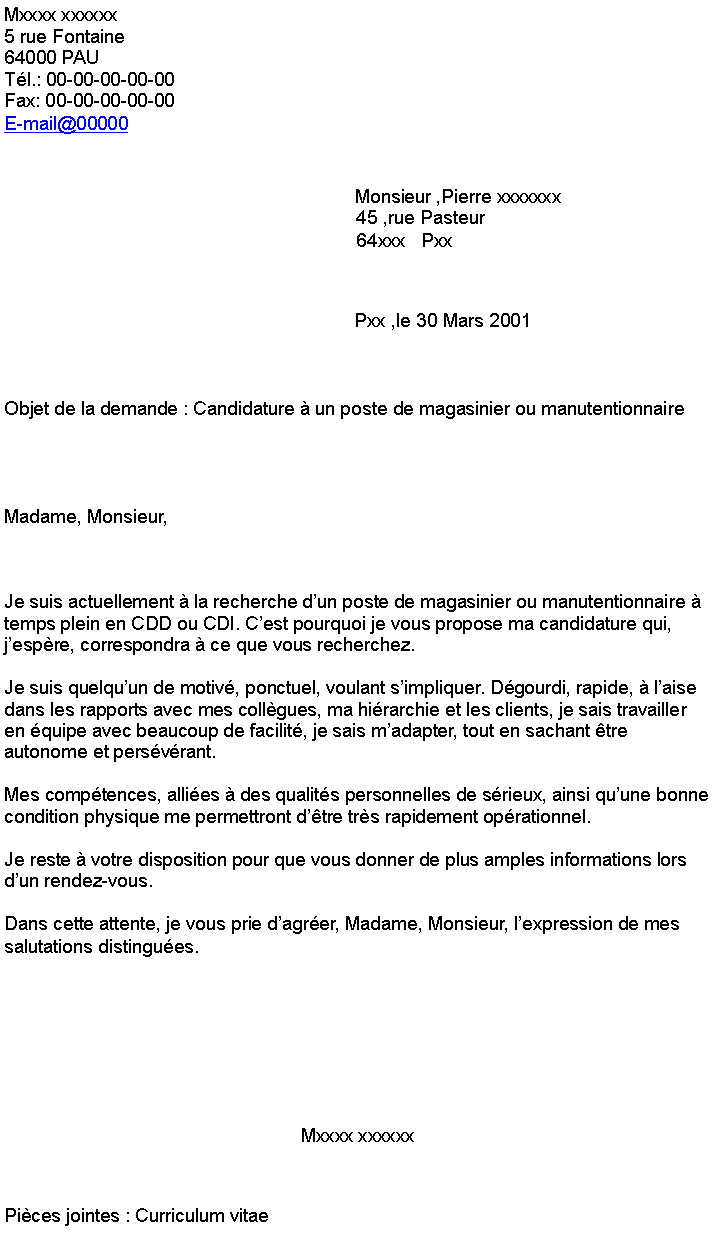 lettre de motivation cui