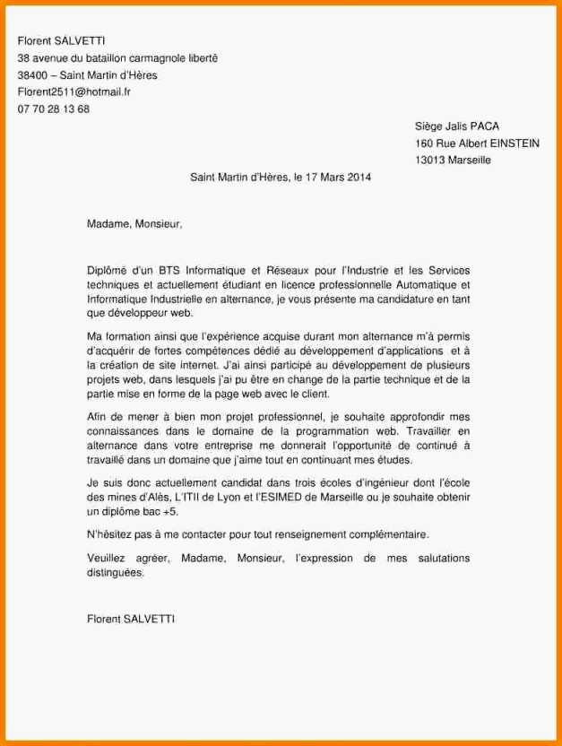 lettre de motivation demande de formation pole emploi