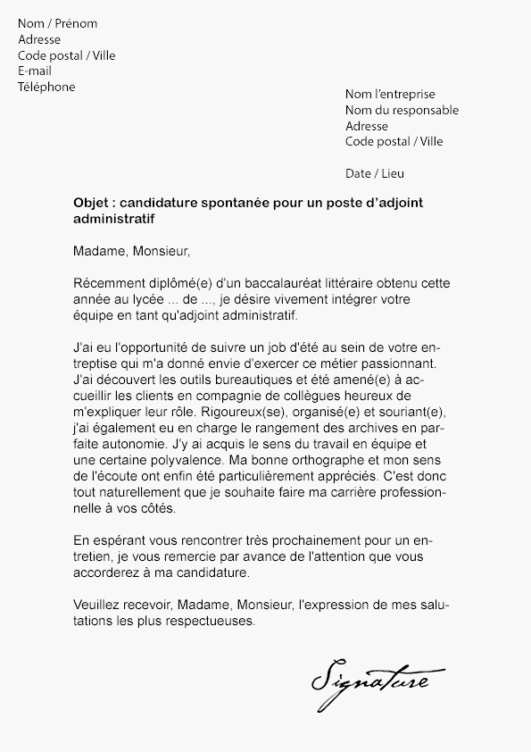 lettre de motivation attach u00e9 territorial