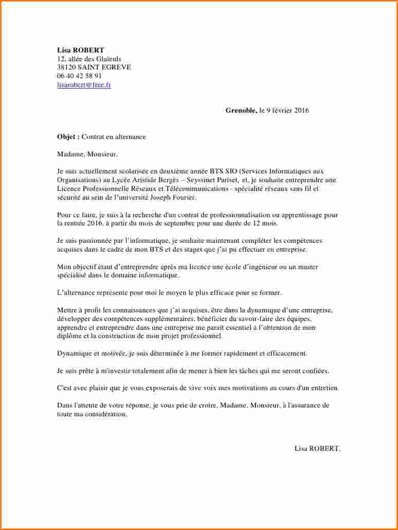 lettre de motivation formateur informatique