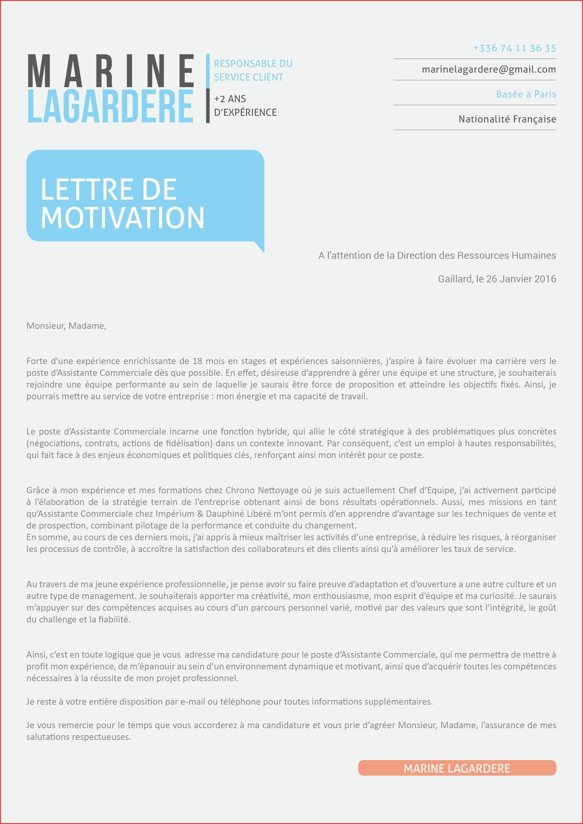 lettre de motivation formateur ifsi