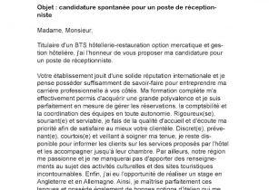 Lettre De Motivation Candidature Spontanee Conducteur De Travaux
