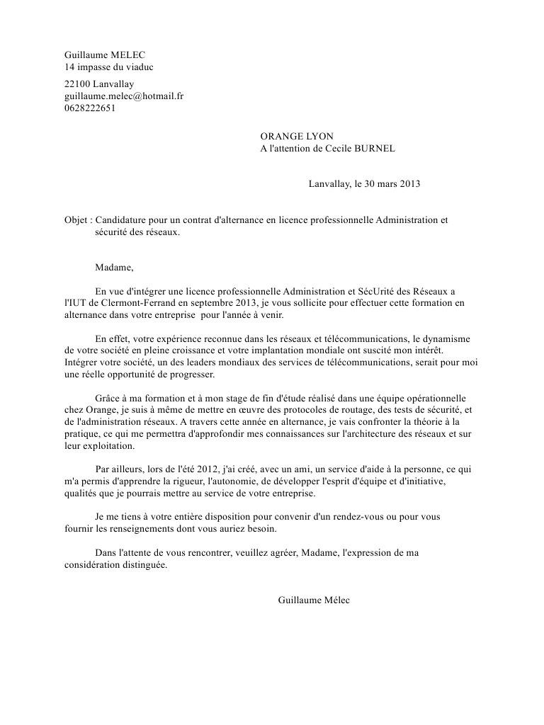 lettre de motivation licence administration  u00e9conomique et
