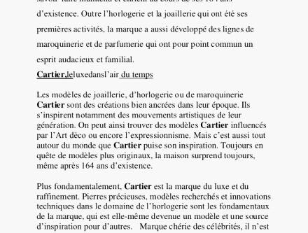 Lettre de motivation maroquinerie de luxe
