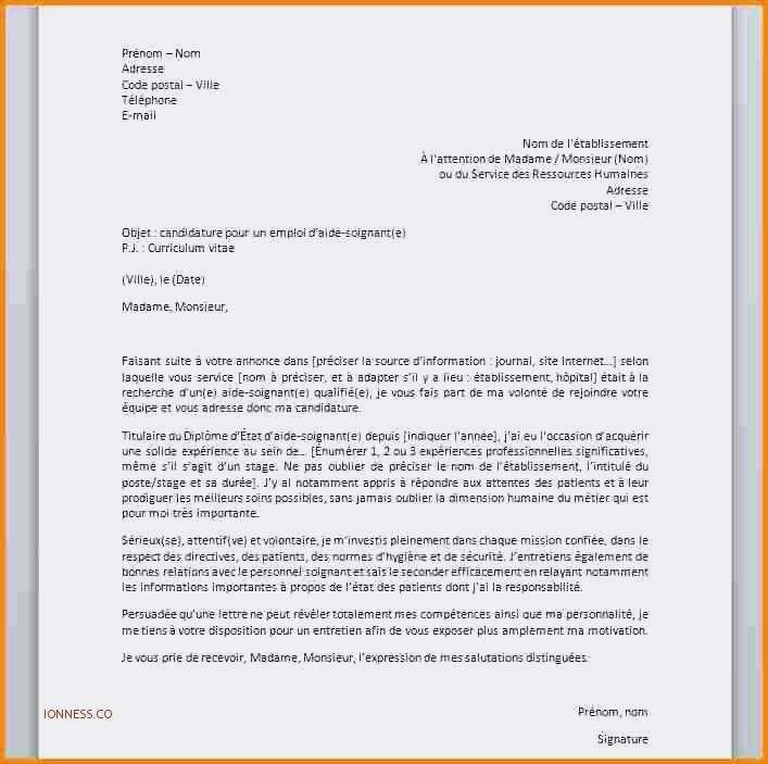 Exemple lettre de motivation préparateur en pharmacie