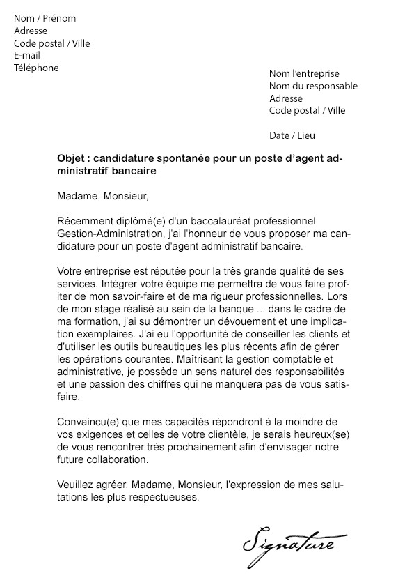 lettre de motivation pour detachement police municipale