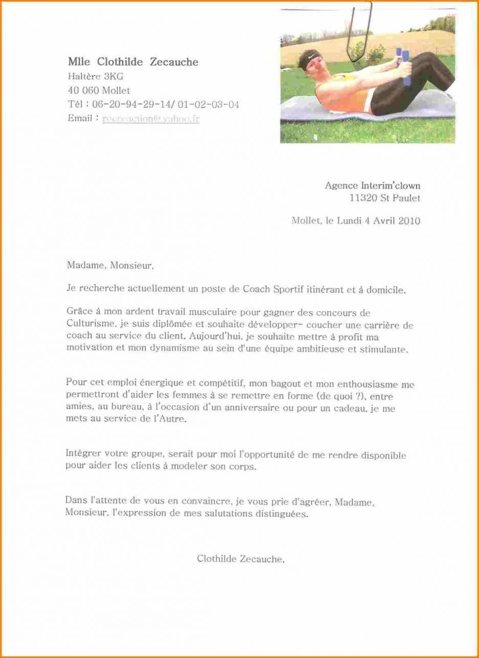 lettre de motivation boite interim