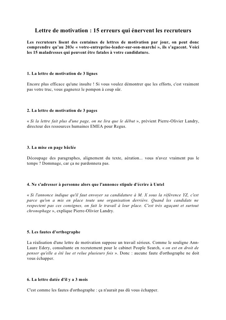 lettre de motivation mmi