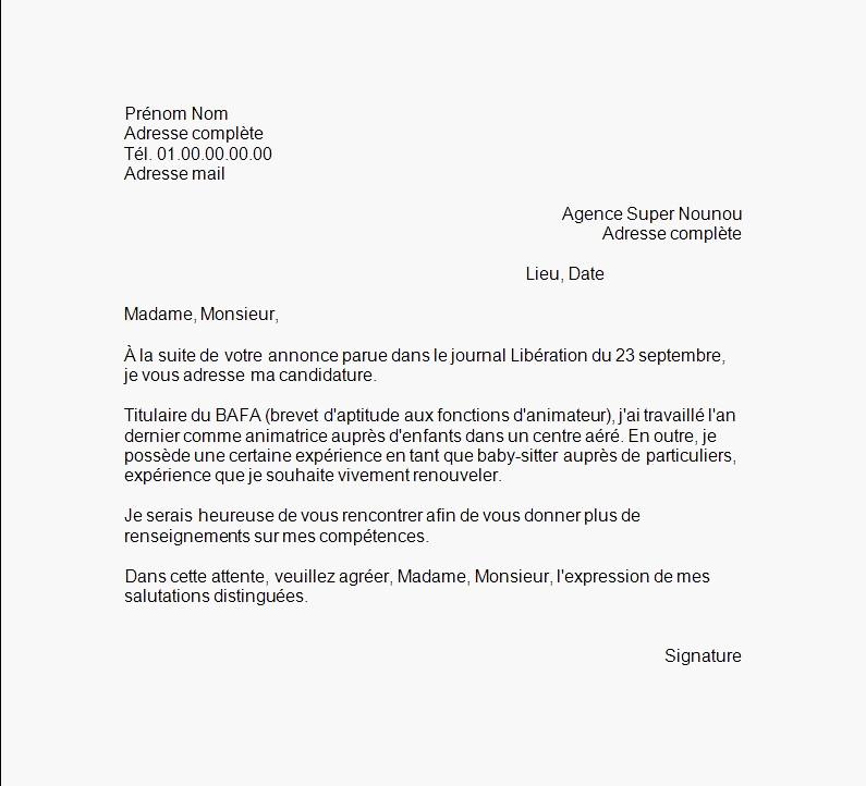 mcdonald u0026 39 s lettre de motivation