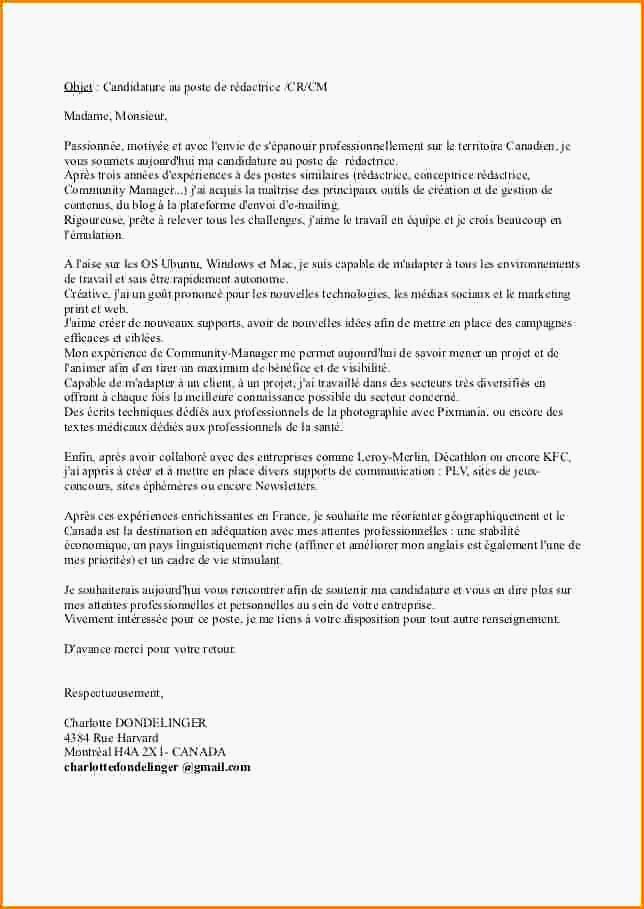 lettre de motivation pour travailler a decathlon