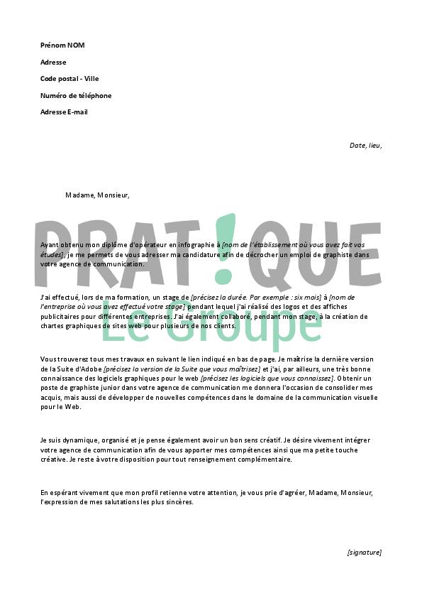 lettre de motivation stage agence de communication