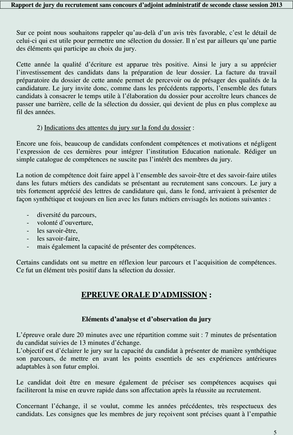 lettre de motivation pour  u00eatre jury de concours