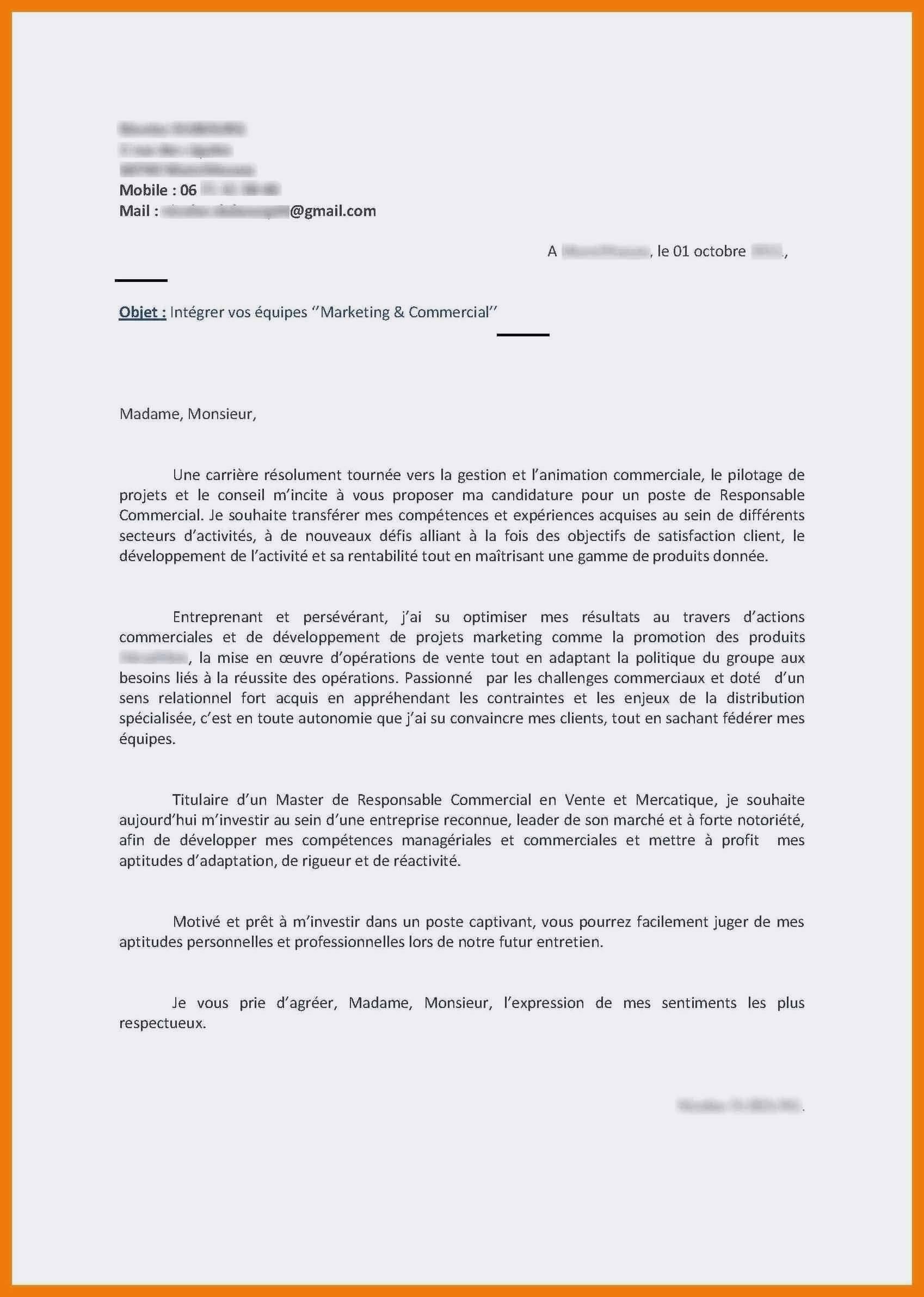 Lettre De Motivation Responsable Service Client Laboite Cv Fr