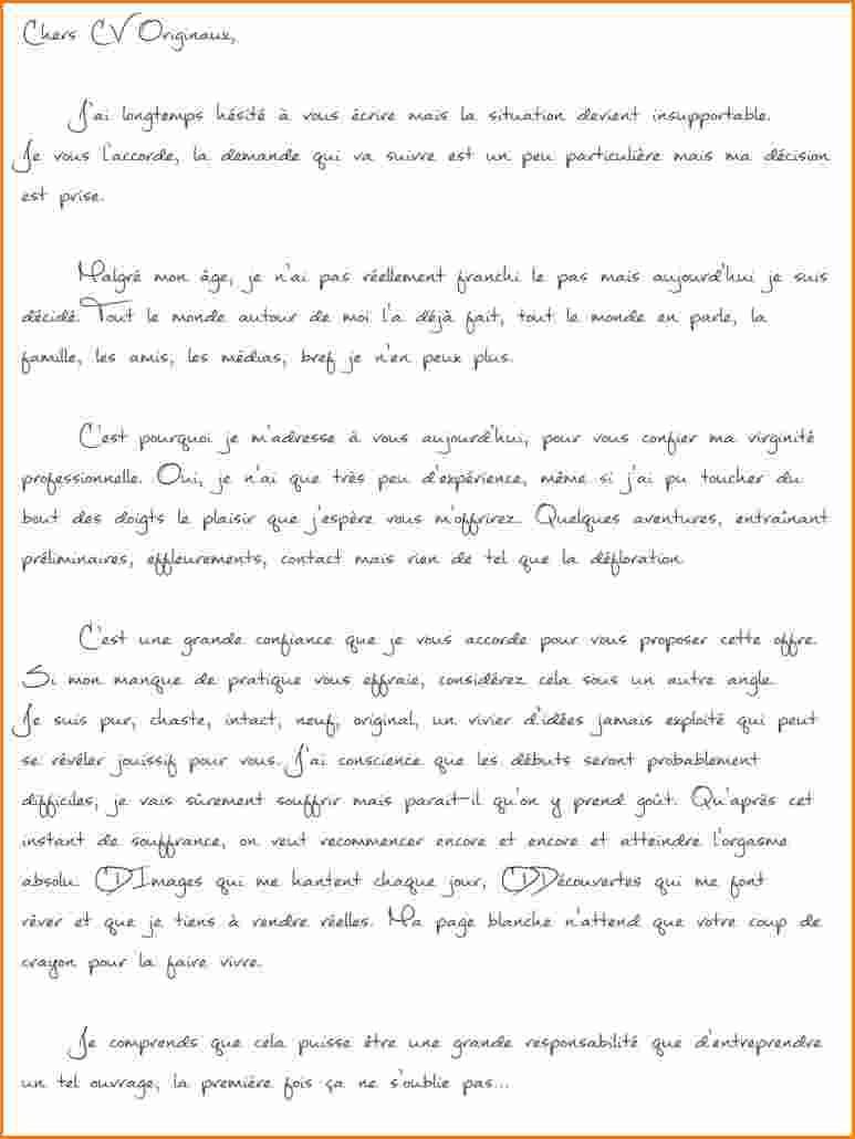 lettre de motivation recruteur de donateur sans experience