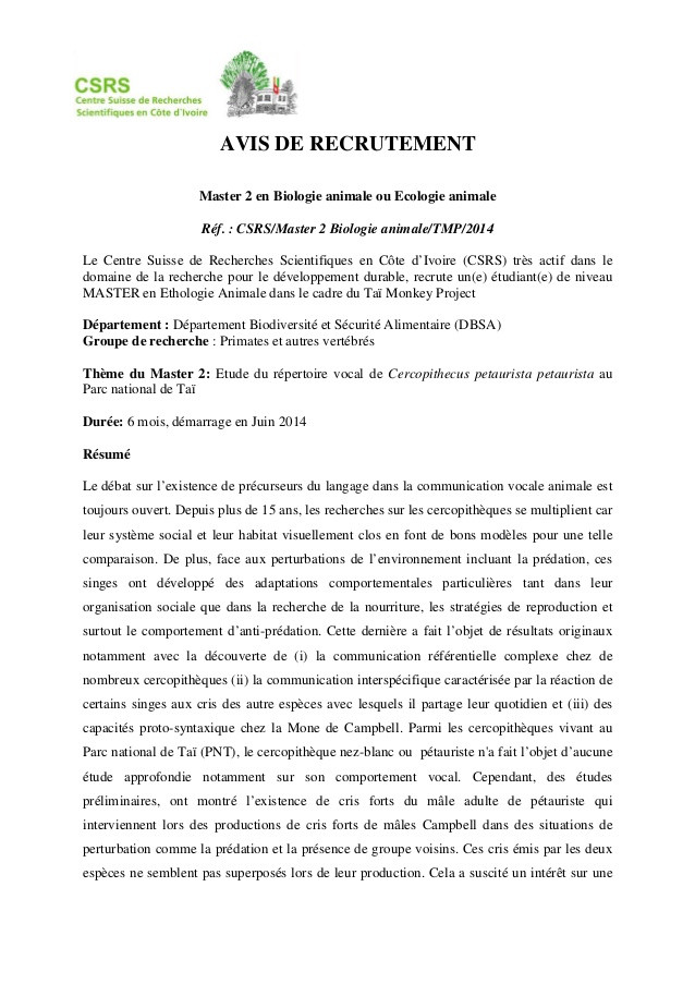 lettre de motivation master 2 psychologie