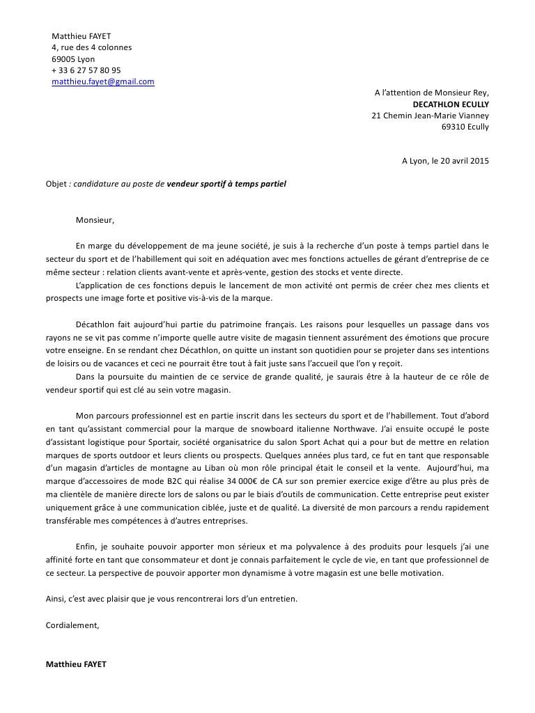 lettre au tribunal de grande instance