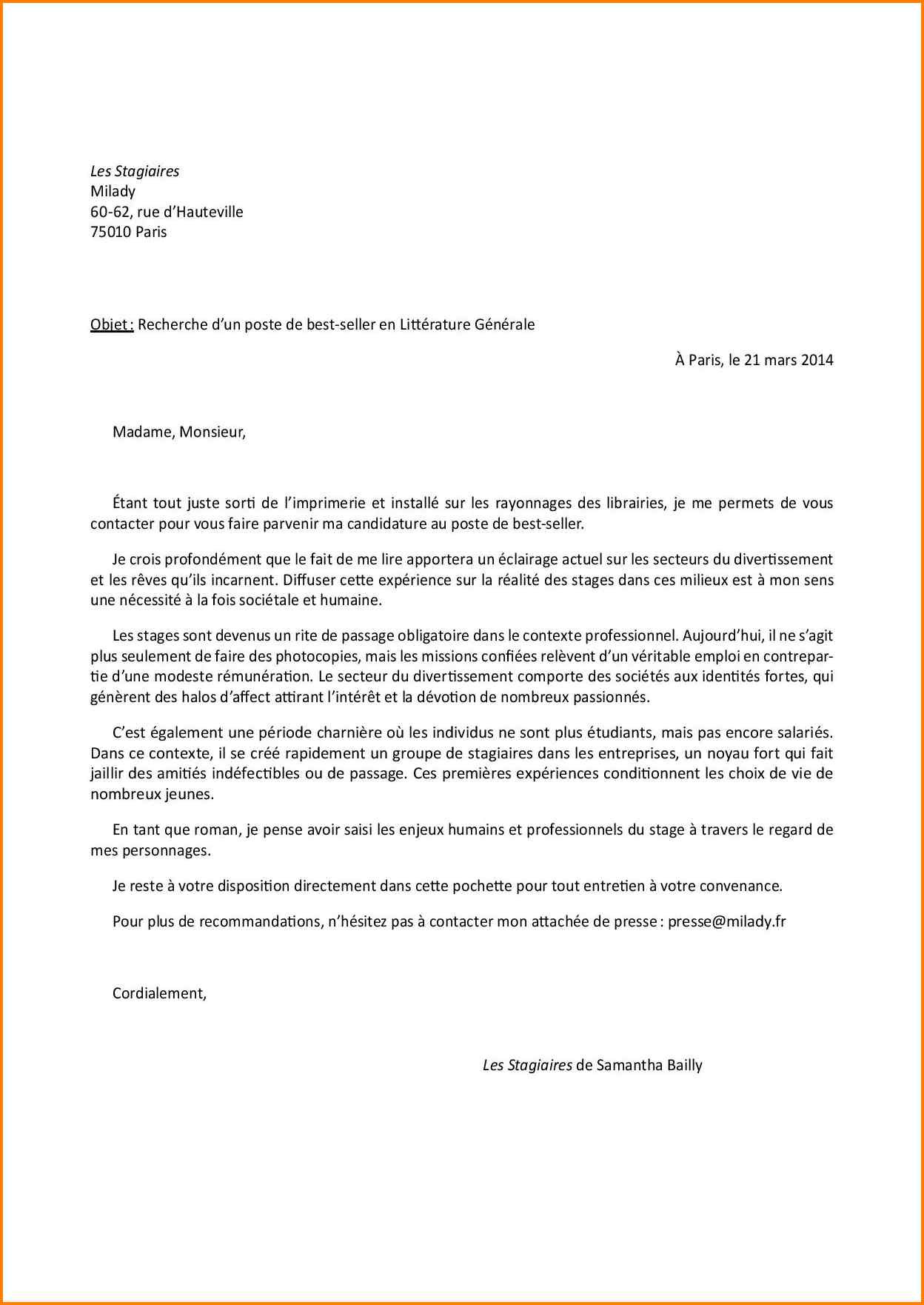 lettre de motivation stage office de tourisme