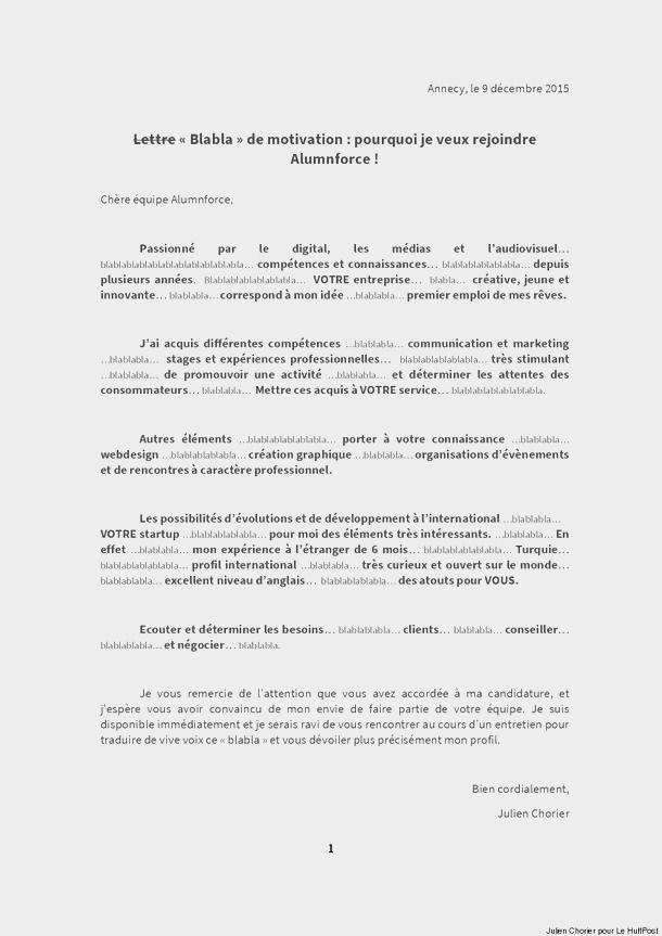 lettre de motivation travailleur handicap u00e9 gratuit