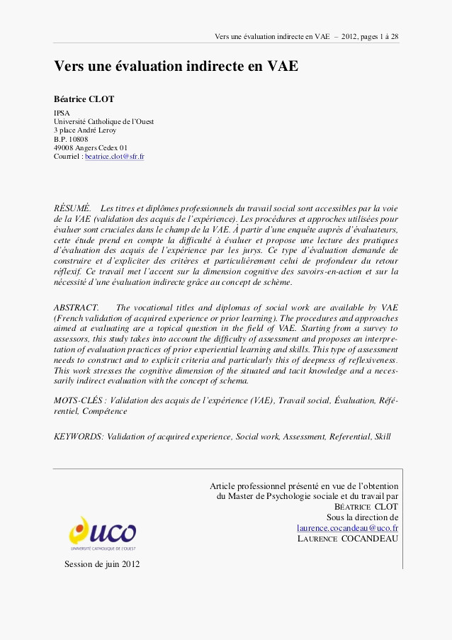lettre de motivation validation d u0026 39 acquis