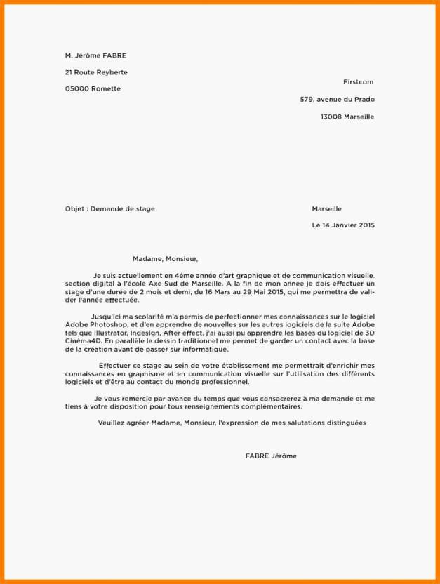 lettre de motivation 2nd general