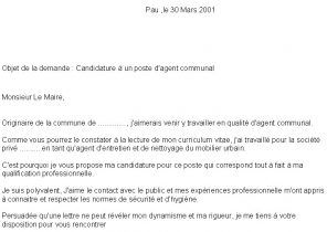 Exemple De Lettre De Motivation Licence Laboite Cv Fr