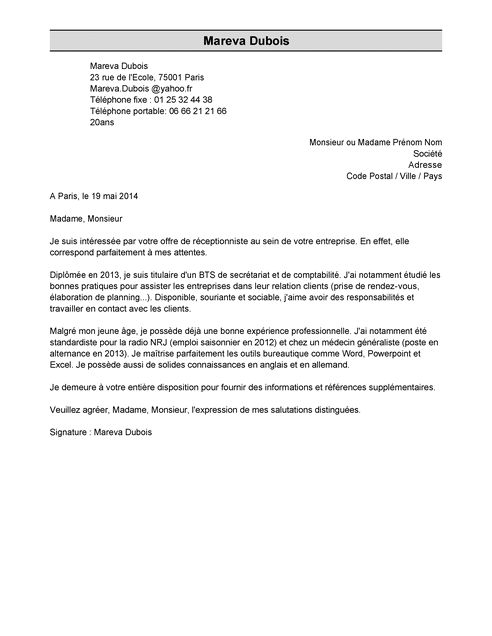 Lettre De Motivation Stage Garantie Jeune Laboite Cv Fr