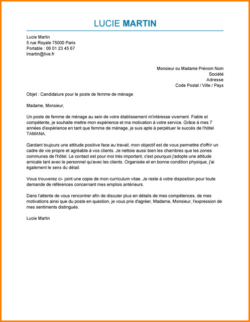 lettre de motivation carrefour city