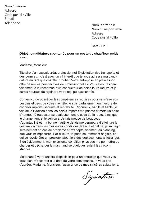 lettre de motivation gratuite agent d u0026 39 exploitation des routes