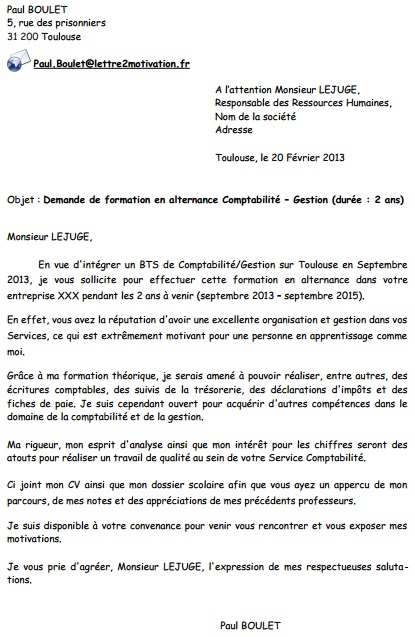 Lettre De Motivation Formation Secretaire Medicale En Alternance
