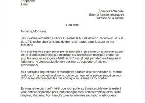 Lettre De Motivation Pour Stage 3eme En Entreprise Laboite Cv Fr