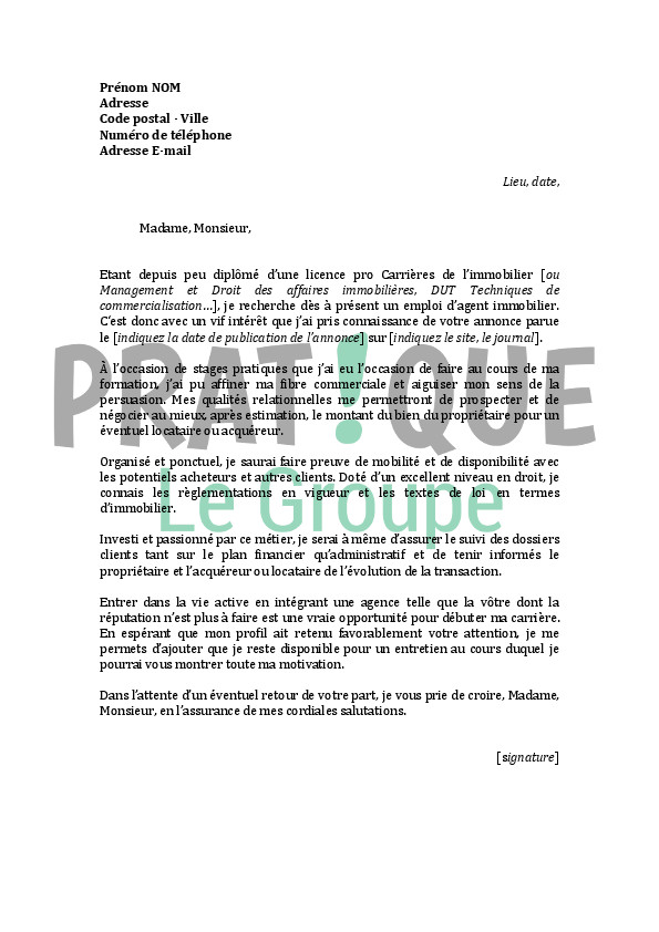 lettre de motivation employ u00e9 polyvalent restauration