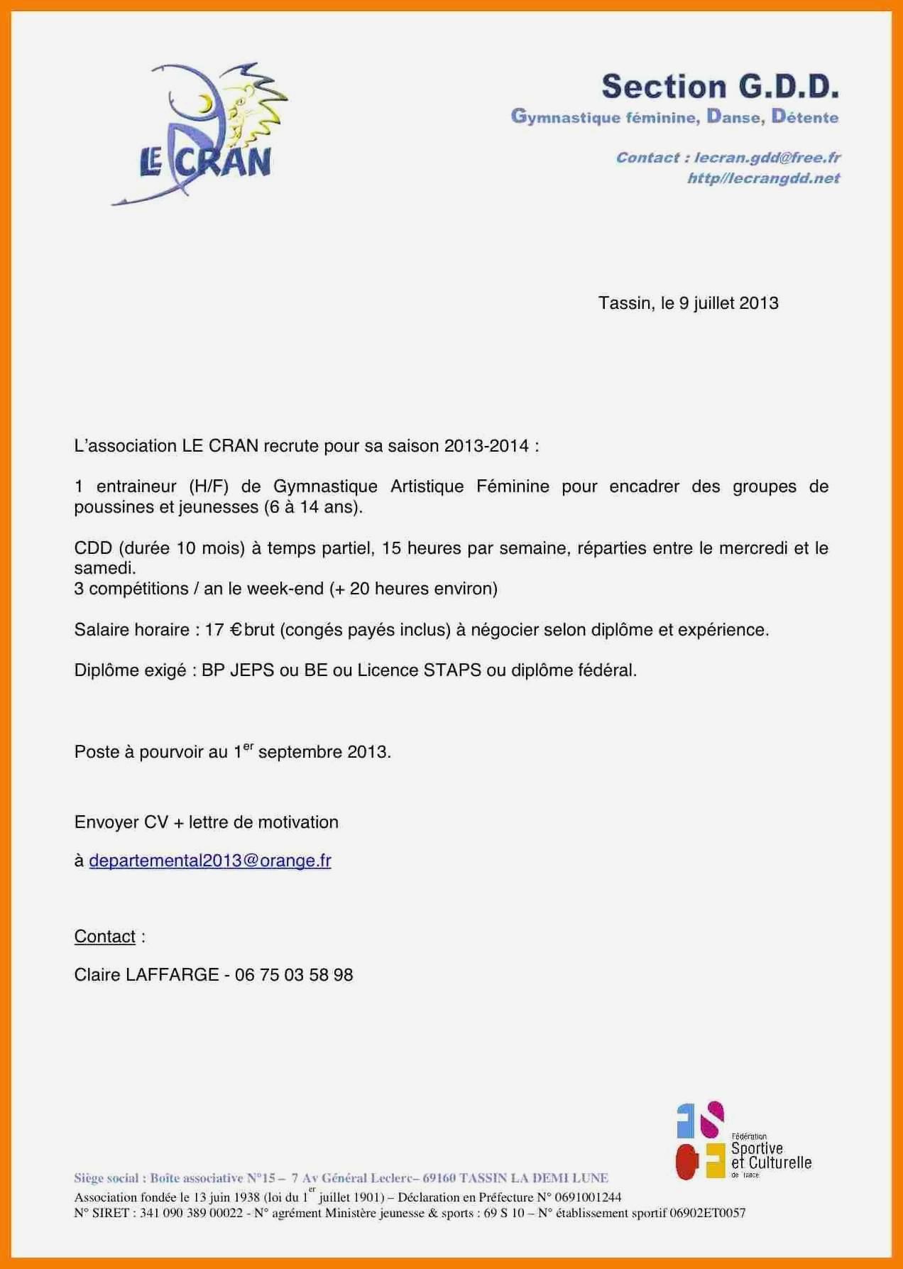 lettre de motivation ash maison de retraite sans diplome