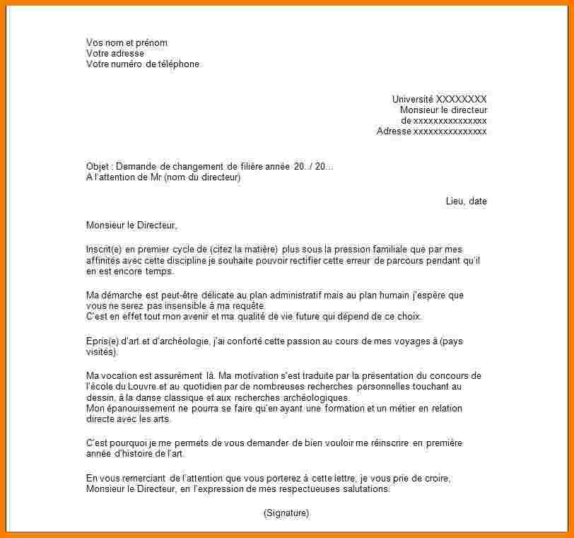 lettre de motivation aed lycee