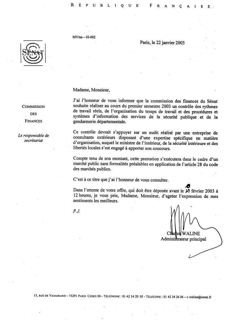lettre de motivation stage police municipale