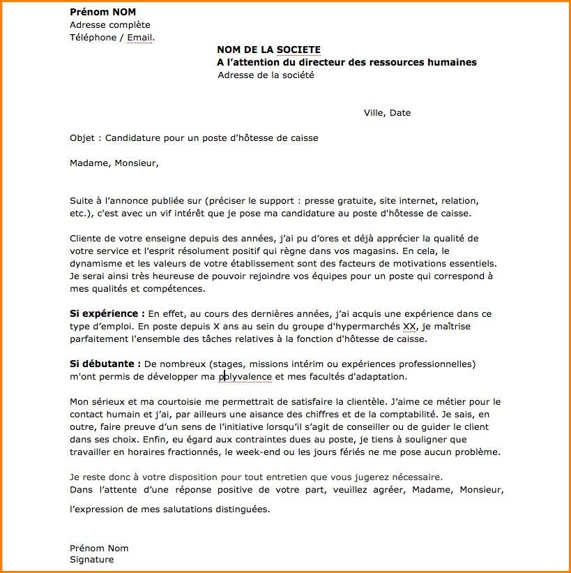 exemple lettre de motivation spontan u00e9e suisse