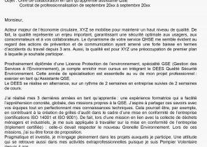 Lettre De Motivation Pour Une Formation Pdf Laboite Cv Fr