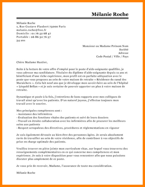 lettre de motivation infirmi u00e8re en ehpad