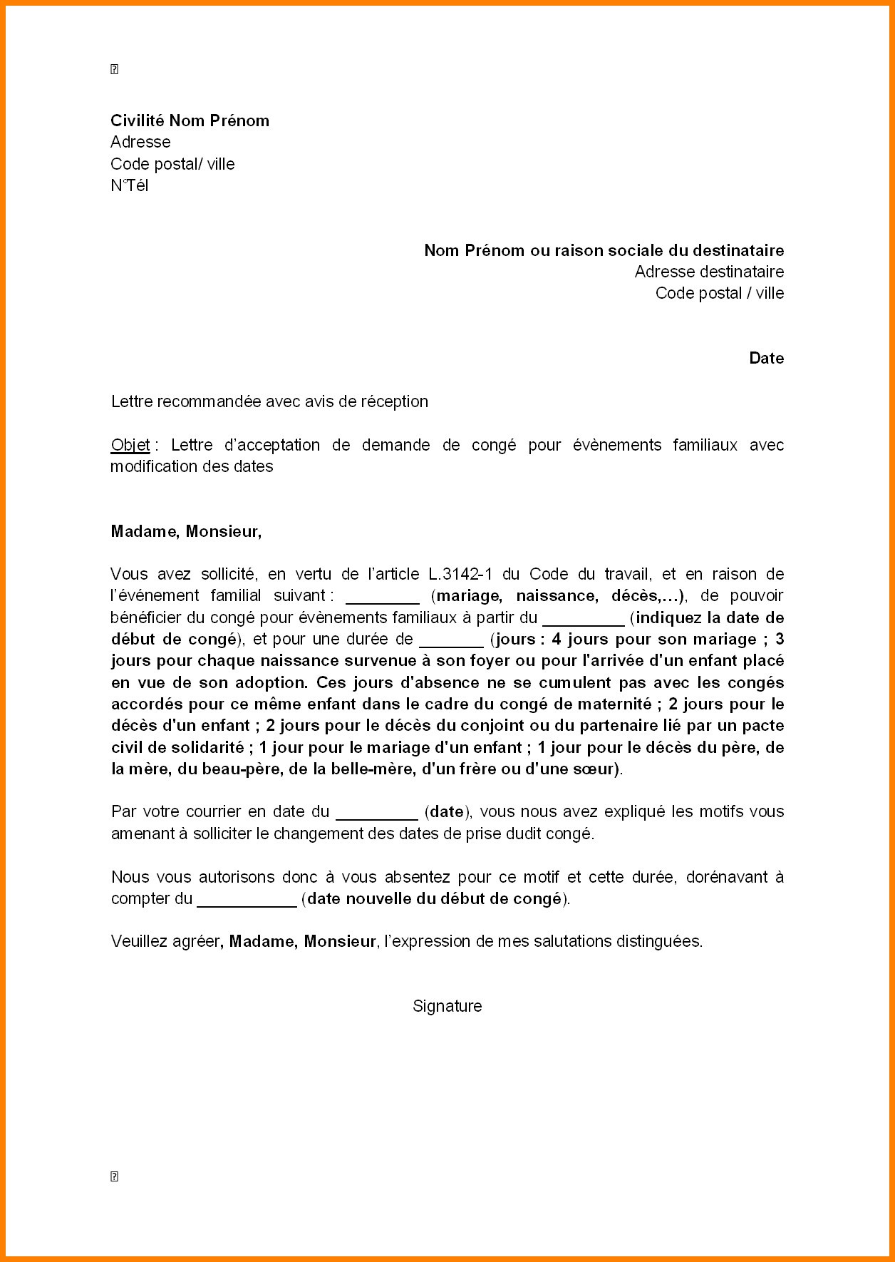 lettre de motivation gendarme adjoint volontaire exemple