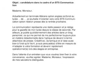 Lettre De Motivation Stage 1ere Bac Pro Laboite Cv Fr