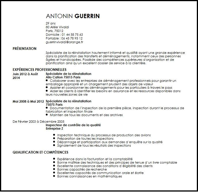 exemple de cv d u0026 39 un responsable commercial
