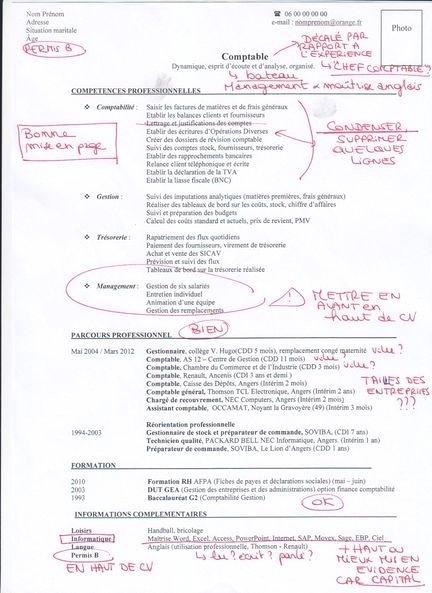 exemple de cv europass comptabilit u00e9