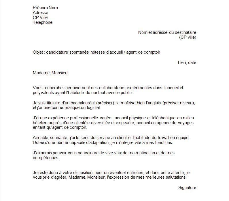 lettre de motivation interimaire