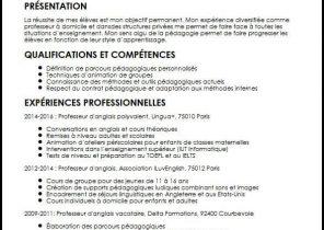 Curriculum Vitae Exemple Etudiant Laboite Cv Fr